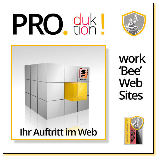 CS Produkt PRO-Duktion Web-Sites, Produktion