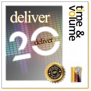cs Mitglied, Deliver 20 time & volume