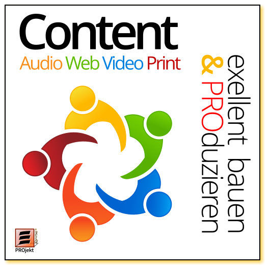 Content: Audio, Video, Web, Print und Text - mit Inspiration. Einheit: 20 min.